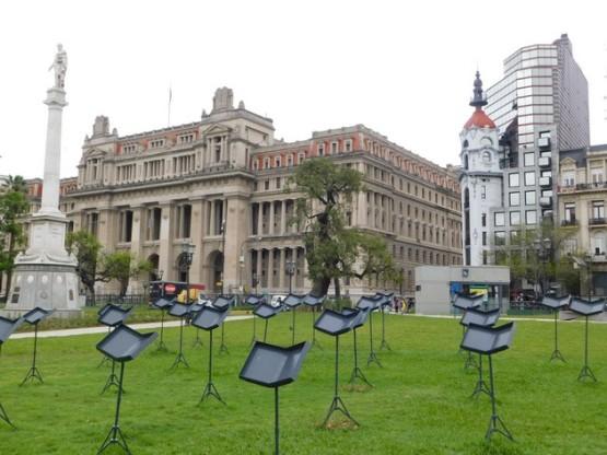 Congresso - Plaza Lavalle, le Palais de Justice
