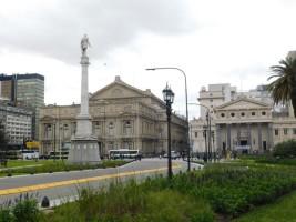Congresso - Plaza Lavalle, le Théâtre Colon