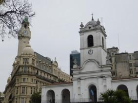 Microcentro, Plaza de Mayo, le Cabildo