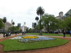 Microcentro, Plaza de Mayo