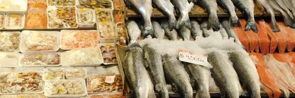 Au marché aux poissons d'Angelmo, à PuertoMontt