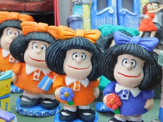 San Telmo, Mafalda, personnage de BD