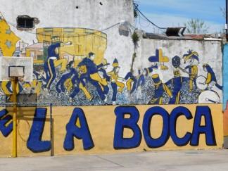 La Boca, terrain de basket