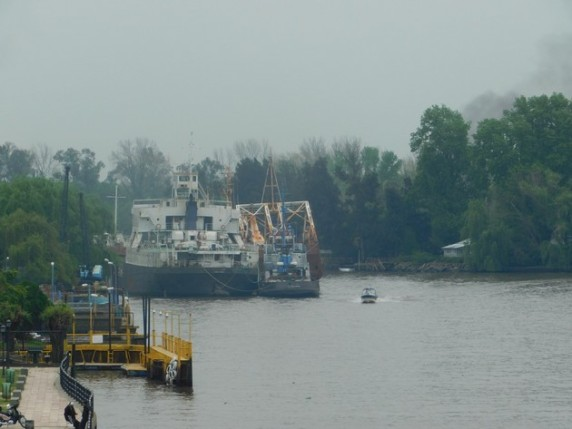Tigre, au bord du rio Parana