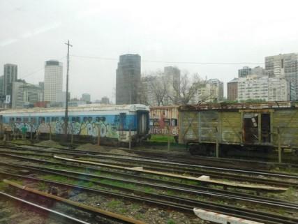 Au départ de Buenos Aires, les rails qui mènent aux quatre coins de la ville...