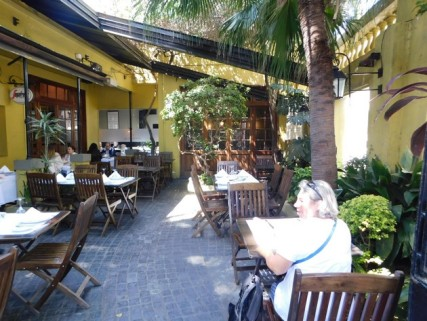 Buenos Aires, déjeuner à Palermo Viejo