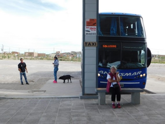 Bus Buenos-Aires / Puerto Madryn, pause à Las Grutas