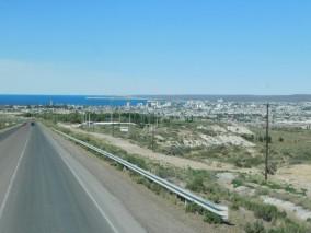 Arrivée à Puerto Madryn