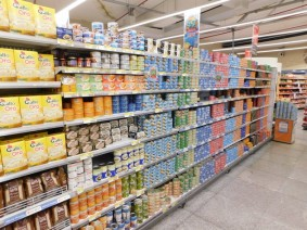 Palermo, supermarché, linéaire de thon