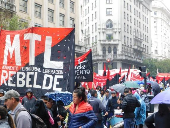 Manifestation politique et sociale