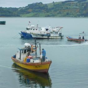 Castro, le port