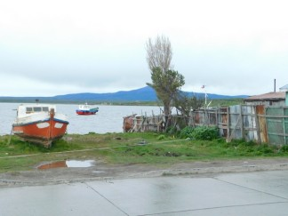 Puerto Natales, vers le port