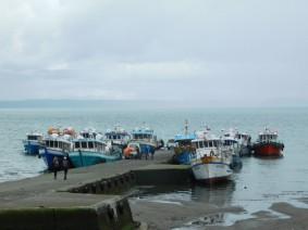 Achao, le port