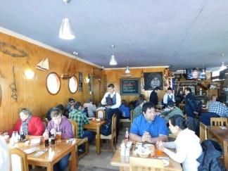 Puerto Natales, restaurant El Bote
