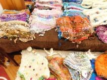 Frutillar, boutique d'artisanat, foulard traditionnel