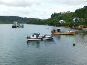 Puerto Montt - Sur le port d'Angelmo