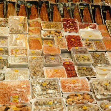 Puerto Montt - Marché aux poissons d'Angelmo