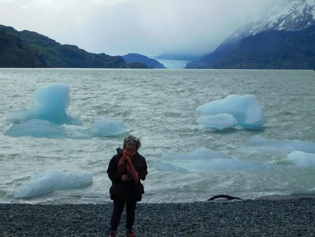 Excursion au Parc Torres del Paine, Lago Grey