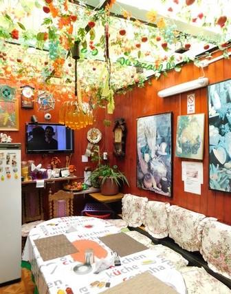 Punta Arenas - Family House del Rey, la cuisine commune aux hôtes et à la famille