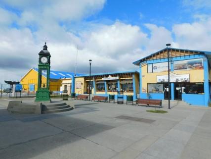 Punta Arenas, vers le port