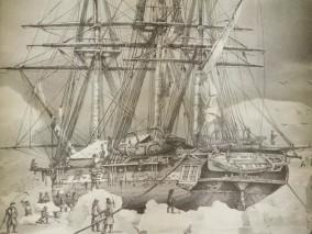 Punta Arenas, Musée régional de Magellan, expédition Dumont d'Urville