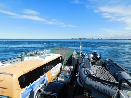 Bus Punta Arenas / Chiloé, depuis le ferry
