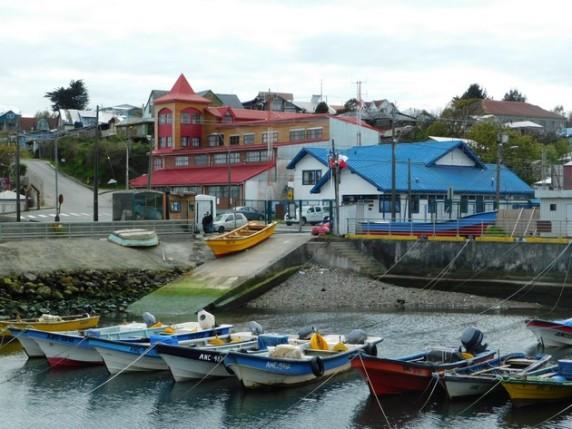 Ancud, le port