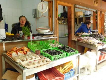 Ancud, marché de poissons
