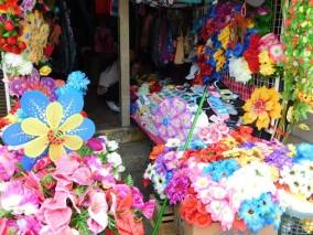 Ancud, vendeur de fleurs artificielles