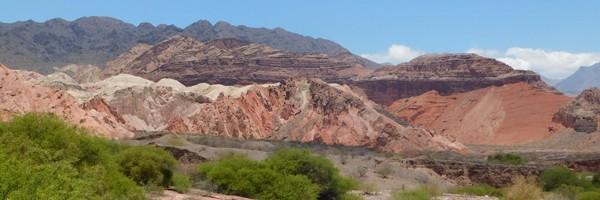 Sur la route, de Tupiza en Bolivie à Cafayate enArgentine
