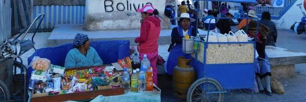 Arrivée en Bolivie, àUyuni