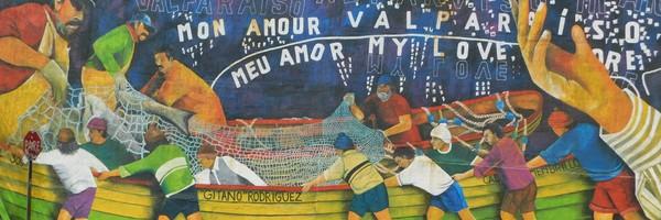 Sur les hauteurs deValparaiso