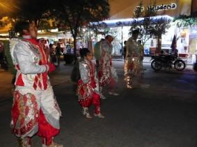 Cafayate, danses pour une procession religieuse
