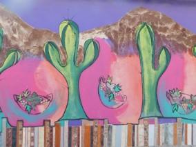 Cafayate, mur peint