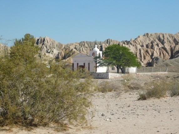 Sur la Ruta 40, une autre église