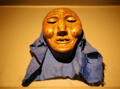 Salta, Museo Pajcha de Arte Etnico Americano, masque