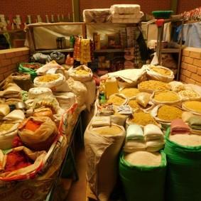 Tupiza, Mercado La Paz - Encore des pâtes...