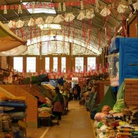 Tupiza, Mercado La Paz