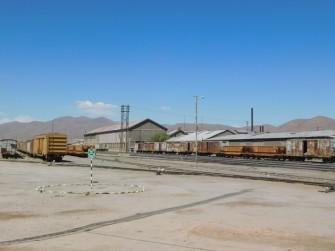 Uyuni, la gare ferroviaire