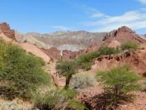 Au sud de Tupiza, excursion vers le Canon del Duende et le rio de Toroyoj