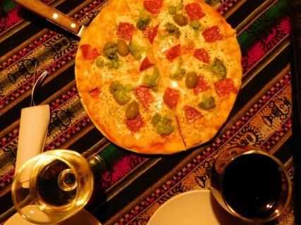 Tupiza, délicieuse pizza !