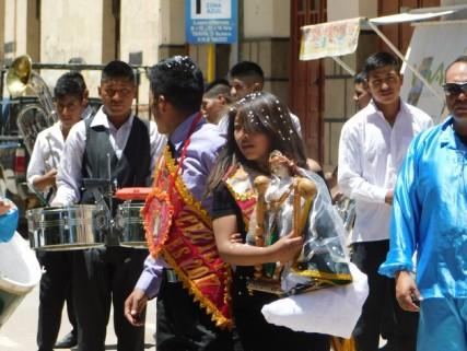 Tupiza, procession religieuse