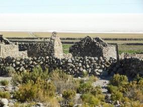 Salar d'Uyuni, village abandonné