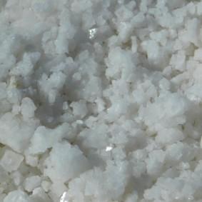 Salar d'Uyuni, détail de cristaux de sel