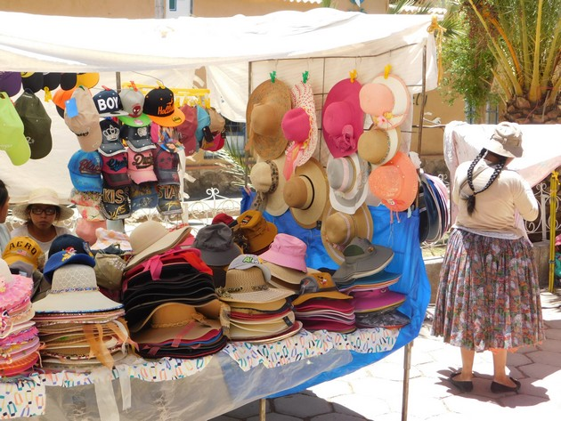 Tupiza, centre-ville, marché du samedi