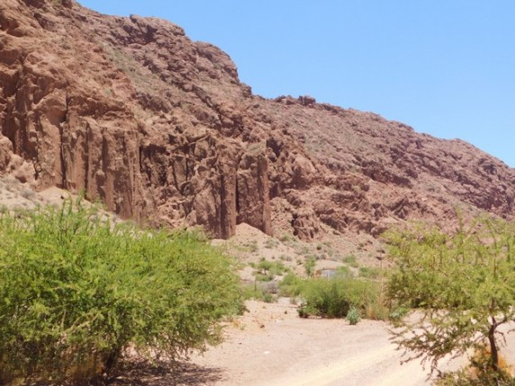 Tupiza, vers le Cerro Elefante
