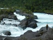 Tour du lac Llanquihue, chutes de Petrohue