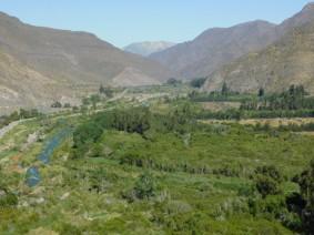 Vallée de l'Elqui - Barrage