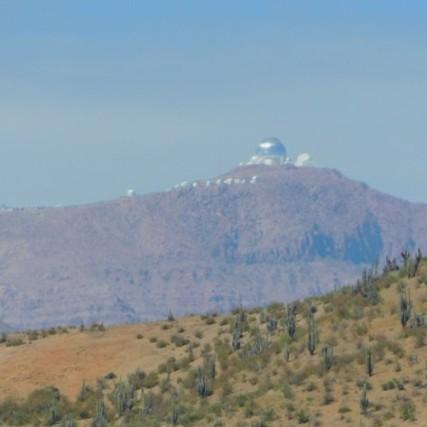 Vallée de l'Elqui, observatoire astronomique