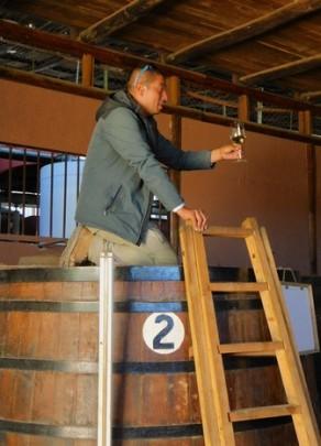 Vallée de l'Elqui , distillerie de Pisco